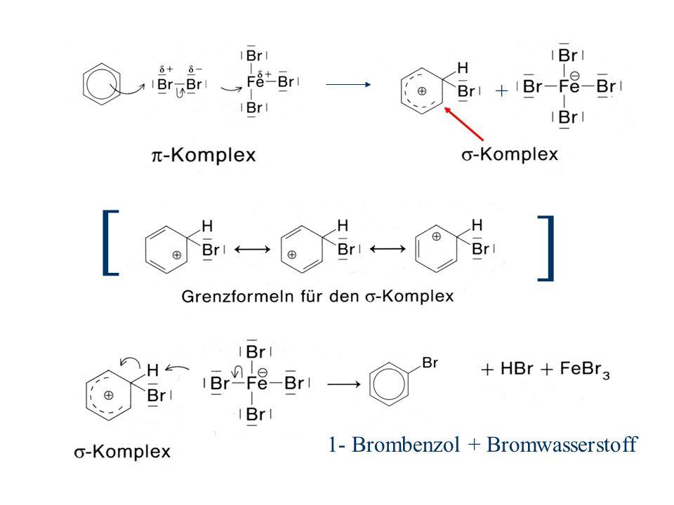 + [ ] 1- Brombenzol + Bromwasserstoff